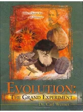 Evolution: The Grand Experiment Vol. 1 REVISED AND EXPANDED EDITION!