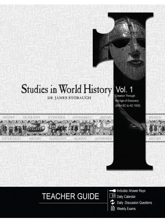 Studies in World History Volume 1 (Teacher Guide) (eBook)