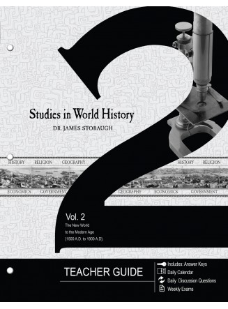 Studies in World History Volume 2 (Teacher Guide) (eBook)