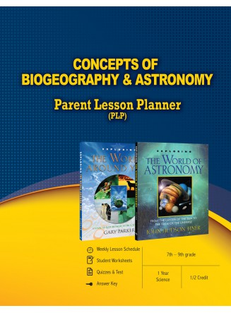 Concepts of Biogeography & Astronomy Parent Lesson Planner (eBook)
