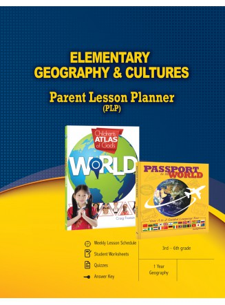 Elementary Geography & Cultures Parent Lesson Planner (eBook)