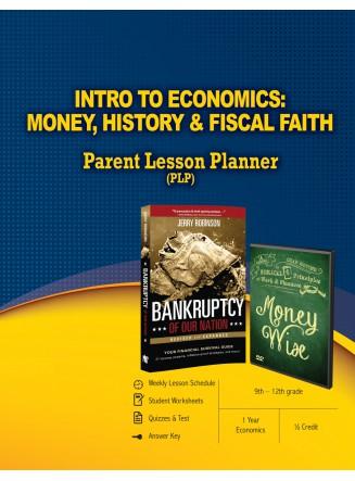 Intro to Economics: Money, History & Fiscal Faith Parent Lesson Planner (eBook)
