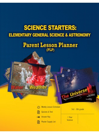 Science Starters: Elementary General Science & Astronomy Parent Lesson Planner (eBook)