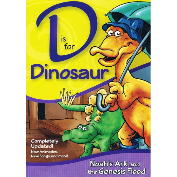 D is for Dinosaur (DVD) COMPLETELY UPDATED!
