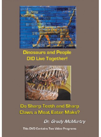 Dinosaurs and People DID Live Together! AND Do Sharp Teeth and Sharp Claws a Meat Eater Make? (DVD)